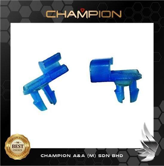 10 Pcs - Wira Saga Kancil Door Lock Clip Plastic - Blue (ptt-200) By Champion A&a (m) Sdn Bhd.