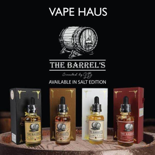 GENUINE The Barrels Series (50ml) Freebase E-Liquid E-Juice Flavor Vape E-Cig HTPC Malaysia