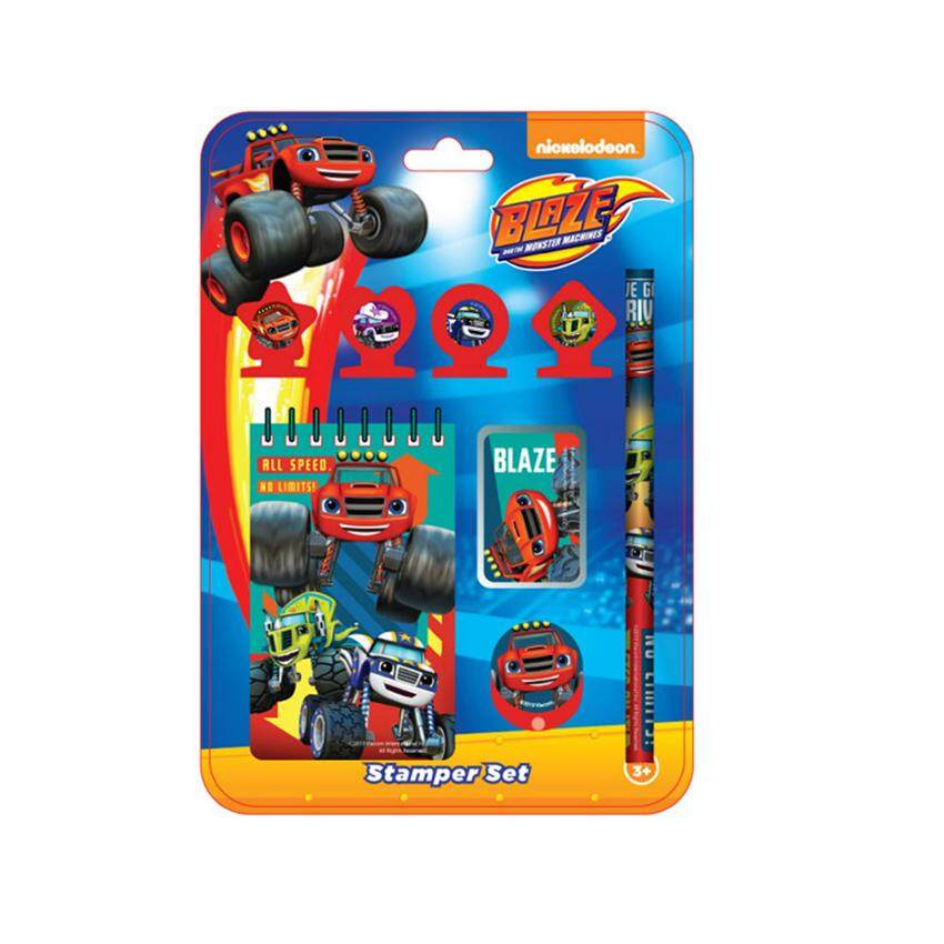 Nickelodeon Blaze And The Monster Machines Stamper Set 8pcs