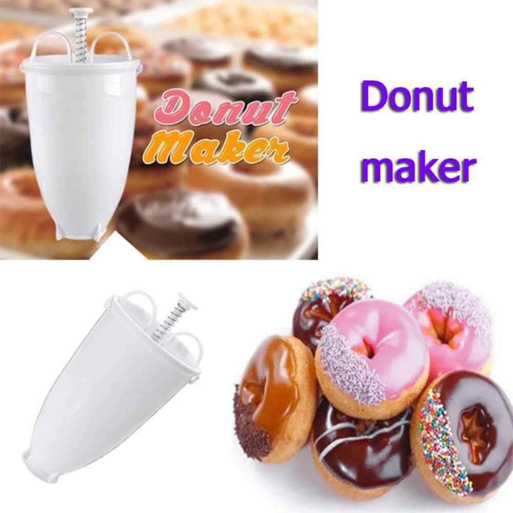 Dueplay Plastic Light Weight Donut Maker Dispenser Deep Fry Donut Mould Easy Fast Portable Arabic Waffle Doughnut Gadget By Dueplay.