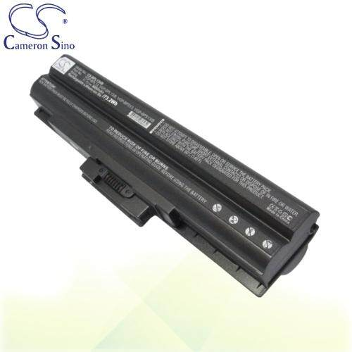 CameronSino Battery for Sony VAIO VGN-TX45C/B / VGN-TX46C / VGN-SR130EB Battery Black L-BPL13HB