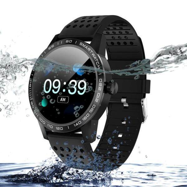 Men Smart watch IP68 Waterproof Blood pressure Heart Rate Fitness Tracker Bluetooth Sport SmartWatch For Android IOS Malaysia