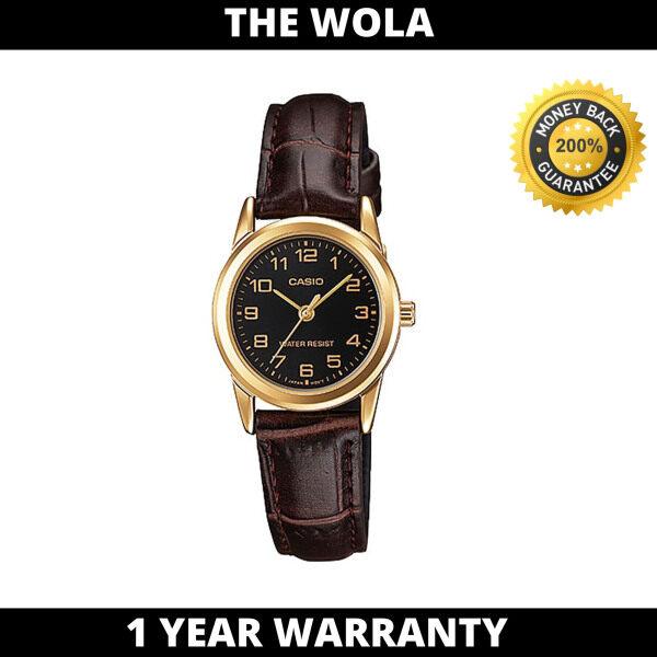(100% Original CASIO) CASIO Women Casual Watch LTP-V001GL-1BUDF (watch for women / jam tangan wanita / Casio watch for women / Casio watch / women watch) Malaysia