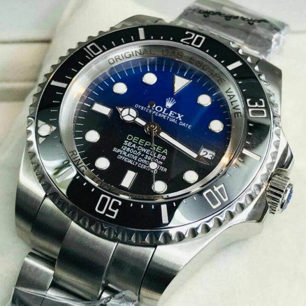 Rolex_Deepsea Sea-Dweller D-Blue 44mm Automatic stainless steel Diver watchQT ROLE3_Deepsea Sea-Dweller D-Blue 44mm Automatic stainless steel Diver watch Malaysia