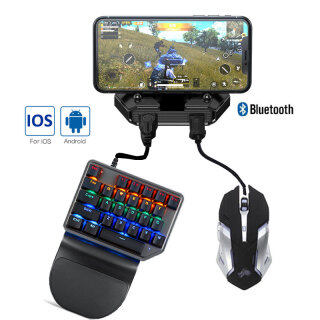 Controller Mobile Controller Gaming Keyboard Mouse Converter For IOS And Android thumbnail