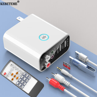 Bộ Thu Phát KEBETEME Bluetooth 2 Trong 1 Bộ Chuyển Đổi Âm Thanh RCA 3.5Mm Sạc USB U Disk TF Play 5V 2.1A Với Điều Khiển Từ Xa thumbnail