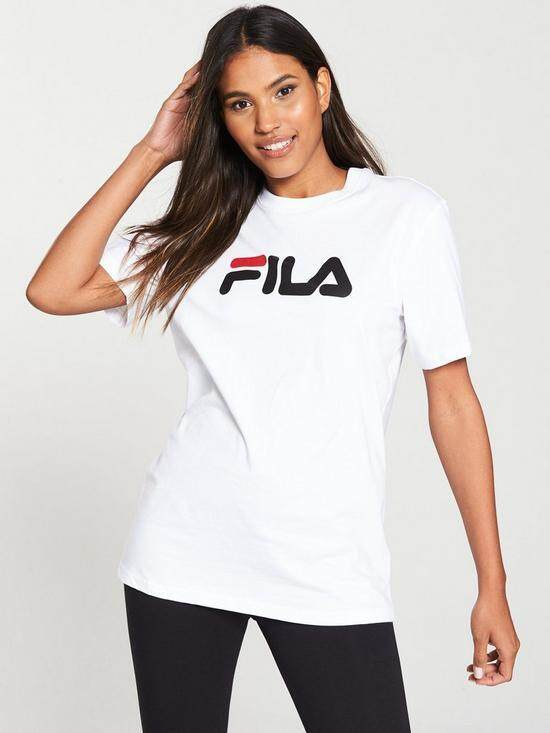 Fila Womens tshirt 100% Cotton   2018 New Quality Update T-Shirts Fashion 8bedd5493
