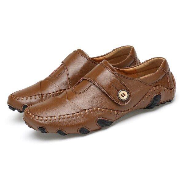 Giày Chơi Golf Bằng Da Cho Nam, Giày Tập Thể Thao, Giày Golf Cỡ Lớn 38-46 Thoải Mái, Thời Trang Xuân Hè Bằng Da giá rẻ