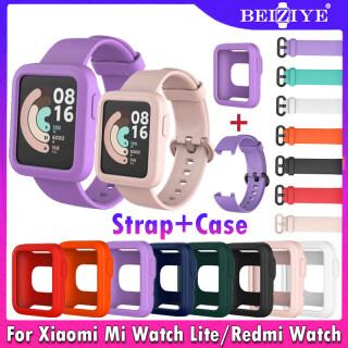 Đối với For Xiaomi Mi Watch Lite Đồng hồ thông minh Dây đeo bằng silicon Dây đeo silicone mềm Vỏ bảo vệ thay thế Vòng đeo tay thể thao Vòng đeo tay cho Dây đeo đồng hồ Redmi thumbnail