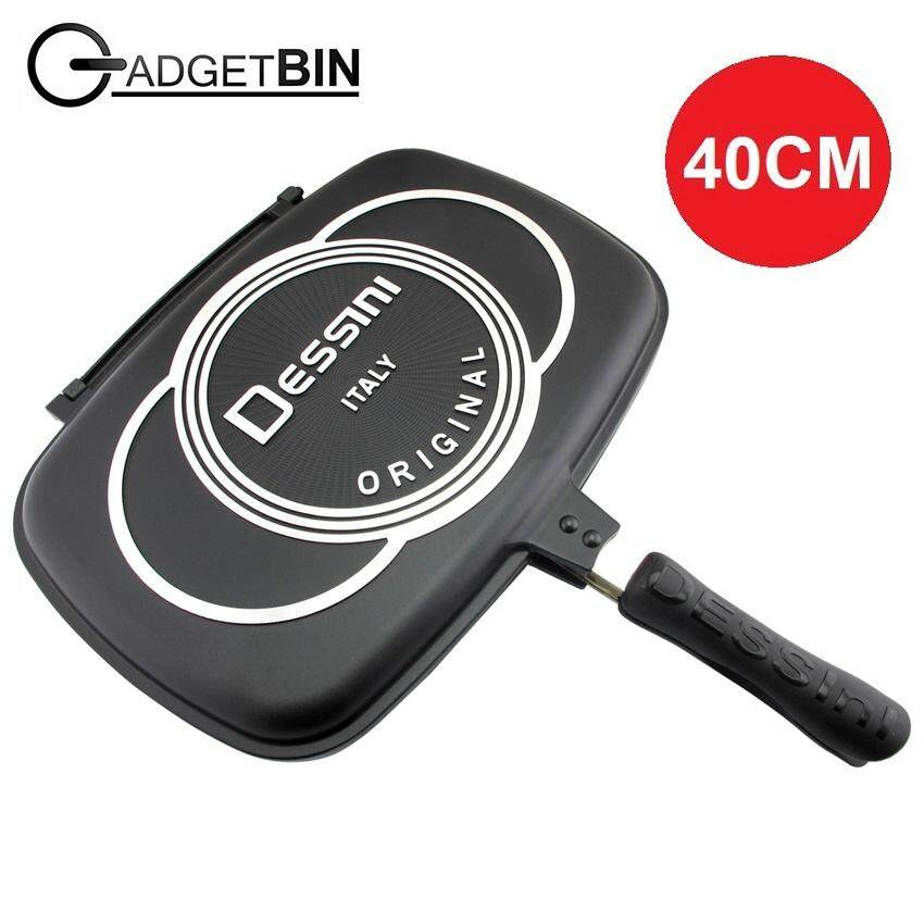 Dessini Double Sided Non Stick Pan Extra Large 40cm By Gadgetbin.