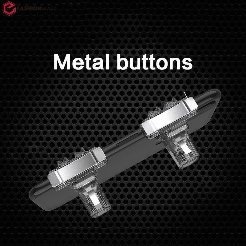 Efashionmall Pubg 1pair Gaming Shooter Gaming Trigger Game Button Handle Controller Pc Gamepad Aim Key Video Game Game Button Handle Game Controller Mobile Trigger Portable By Efashionmall.
