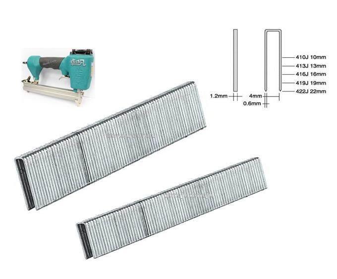Air Nail Refill Stapler Nail For Air Gun 406J 408J 410J 413J 416J 419J 422J