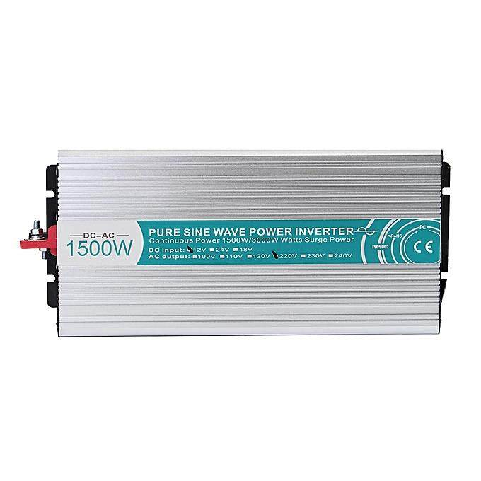 1500w Dc12v To Ac220v Pure Sine Wave Off Grid Power Inverter Led Display By Ulegtce