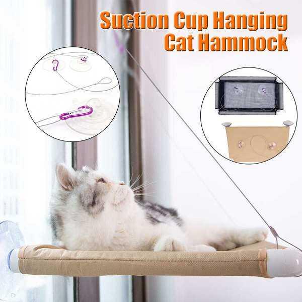 Võng Mèo Leo Núi, Ghế Cửa Sổ Giường Mèo Tiết Kiệm Không Gian, Phù Hợp Với Bộ Đồ Mèo Lớn Cao Cấp