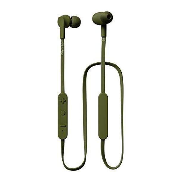 JAYS t-Four Wireless wireless earphone (Bluetooth 4.1/continuous playback 10 hours/remote control with microphone/foam ear tip/moss green) JS-TFW-M/G2 Singapore