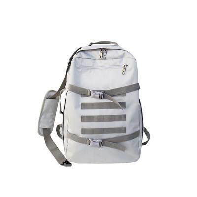 Mens Korean Fashion Trend Casual Large Canva Travel Backpack
