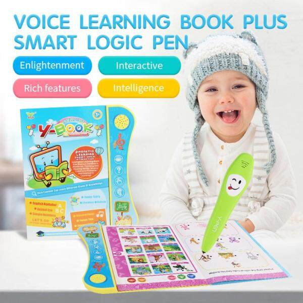 Ready Stock Dedicated to childrens English electronic point reading audio childrens study book childrens educational toys