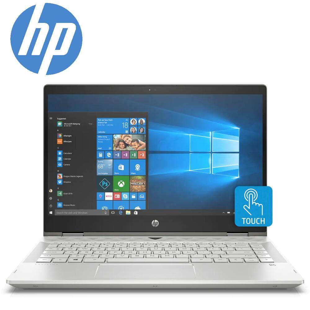 HP Pavilion x360 14-cd1059TX 14 FHD Touch Laptop Silver ( i5-8265U, 4GB, 256GB, MX130 2GB, W10) Malaysia