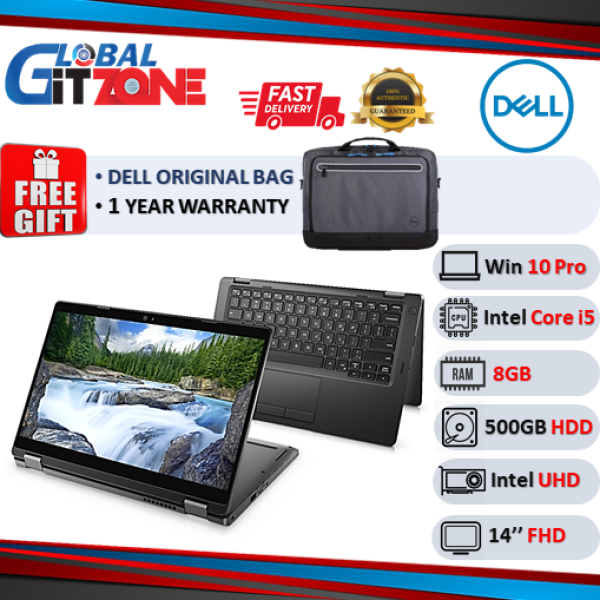 DELL LATIUDE L5480-2085SG-W10PRO-DFO Laptop  14 ( I5-7200U, 8GB, 500GB, INTEL UHD, W10Pro) Commercial notebook Malaysia