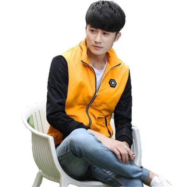 ชายแนวโน้มเสื้อแจ็คเก็ตลำลอง By Kevin-Udian.
