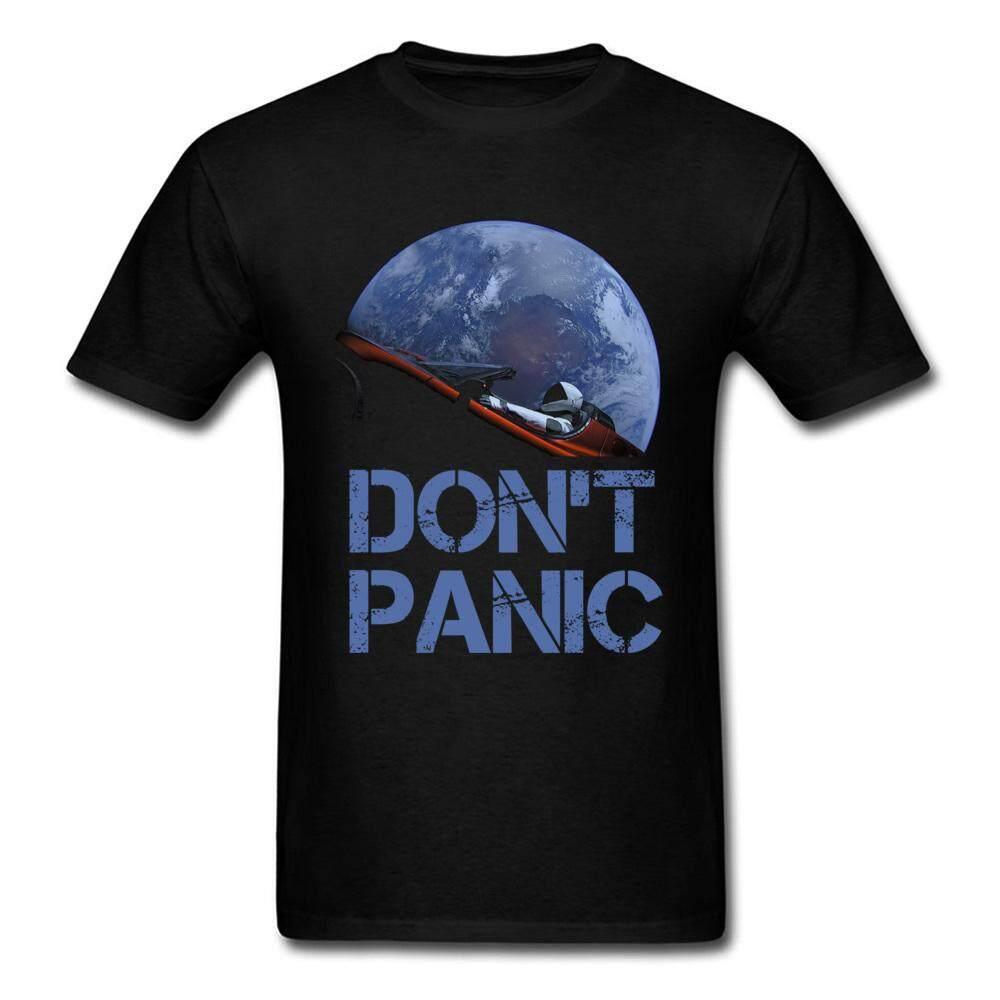 11f541badb Novelty Occupy Earth SpaceX Starman T Shirt Man 100% Cotton Elon Musk Space  X T