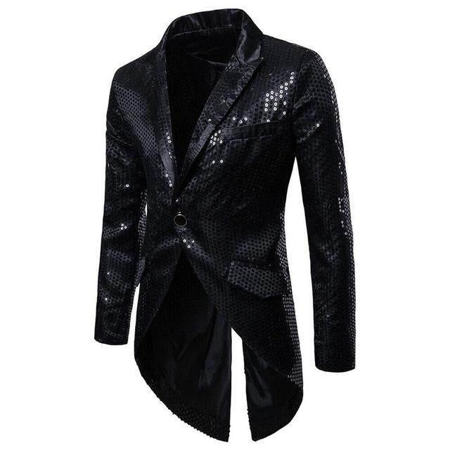 Áo Blazer Mỏng Đính Kim Sa Màu Đỏ Bạc Cho Chú Rể Đám Cưới, Đầm Dự Tiệc Sân Khấu Cho Nam Trang Phục Phù Hợp Với Áo Khoác 2019, Thả Vận Chuyển