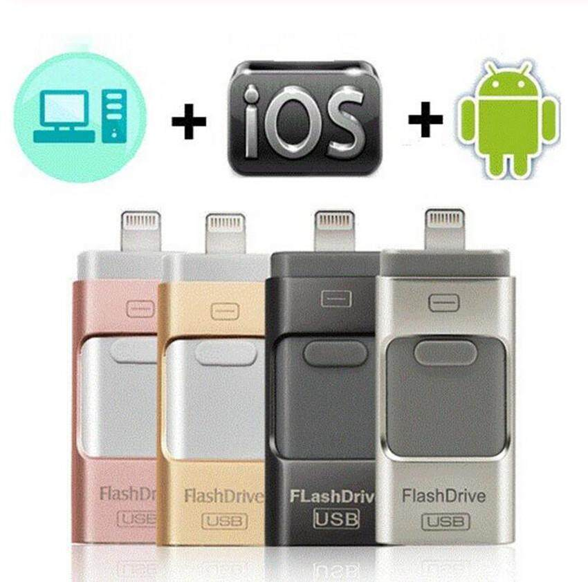 Pen drive 512GB OTG USB Flash Drive for iPhone iPad iPod iOS Android Phone Memory Stick