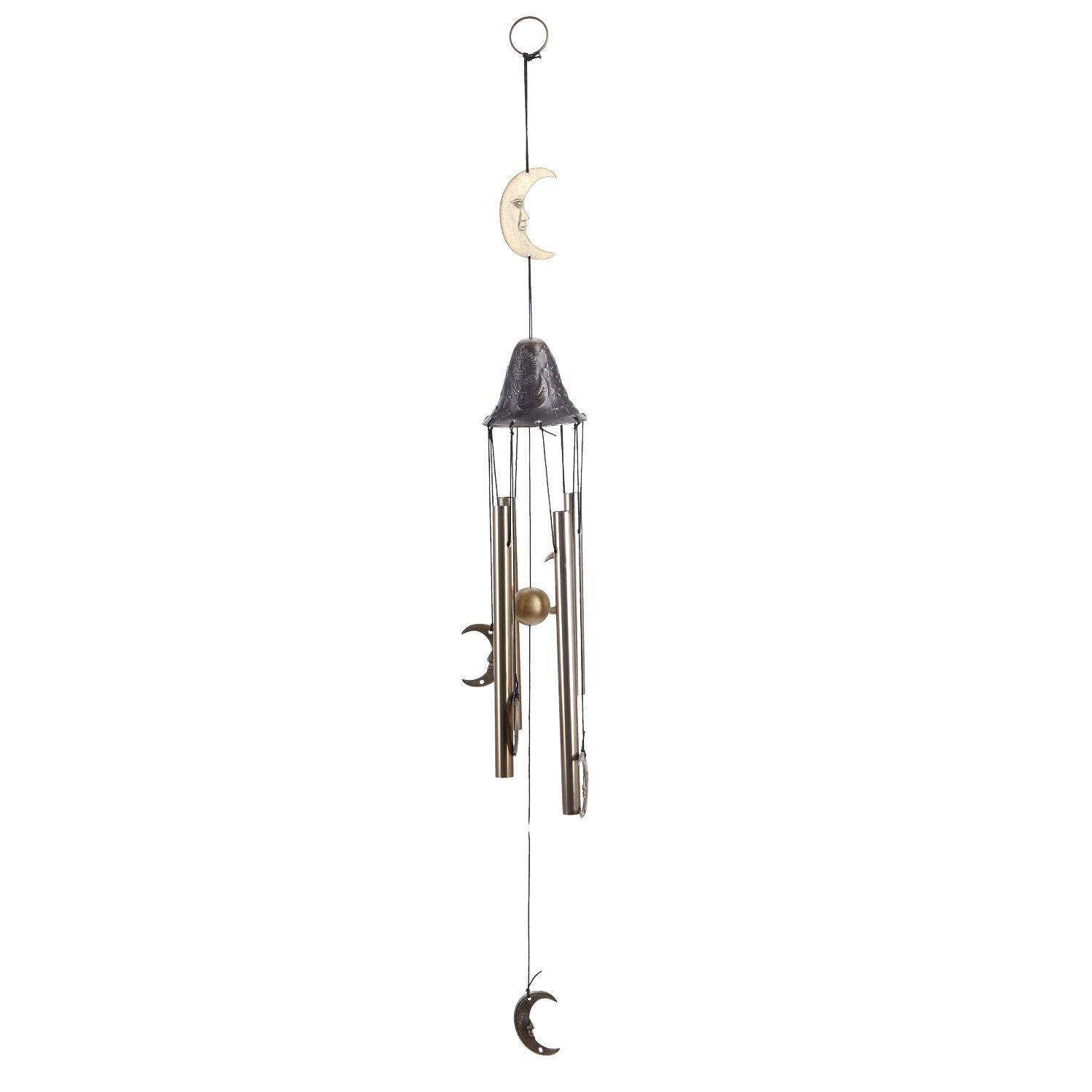 Outdoor Wind Chime, Classical Moon Wind Chimes 27 Inches, Amazing Grace Wind Chimes For Garden, Patio And Home Decor By Rainning.