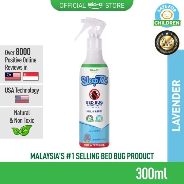 Bio-D SleepTite Bed Bug And Dust Mite Control Spray 300ml (Lavender)