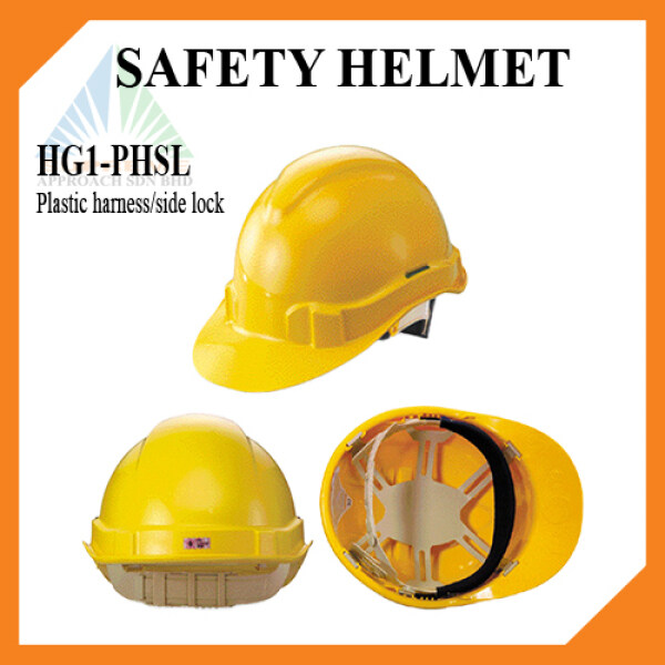PROGUARD Safety Helmet HG1-PHSL Advantage 1 Slide Lock Features: -ABS shell. -8 point moulded shock absorbing system