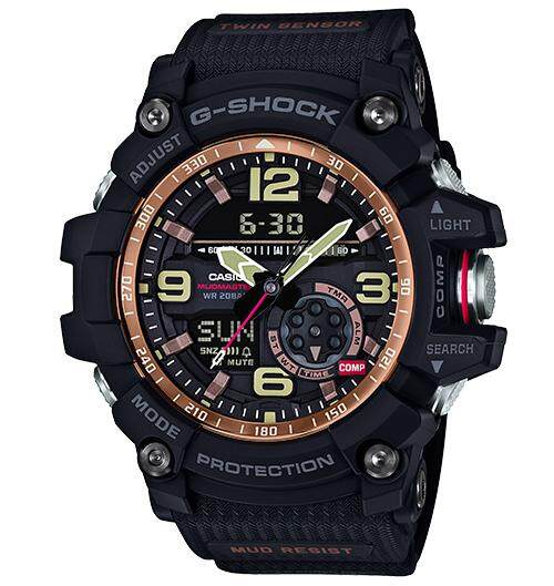 SPECIAL PROMOTION CASIO G-SHOCK_GG-1000-1A5 TWIN SENSOR MUDMASTER SERIES SPORT WATCH (ALONG WITH FREE GIFT) Malaysia