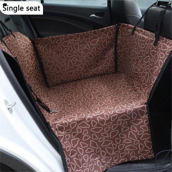 Không Thấm Nước Oxford Vải Pet Dog Car Carrier Seat Bìa Breathable Dog Chăn Rear Lại Mat Võng Cho Chó Mèo Transportin