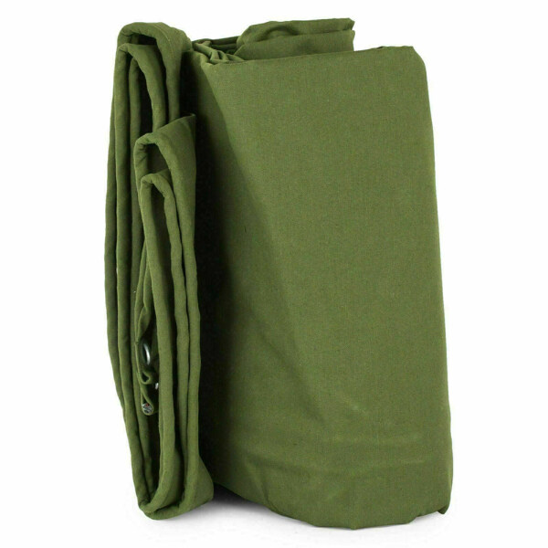Waterproof Outdoor With Eyelets Wear Resistant Dustproof Heavy Duty Hanging Awning Accessories For Boat Anti Scratch Canvas Tarp