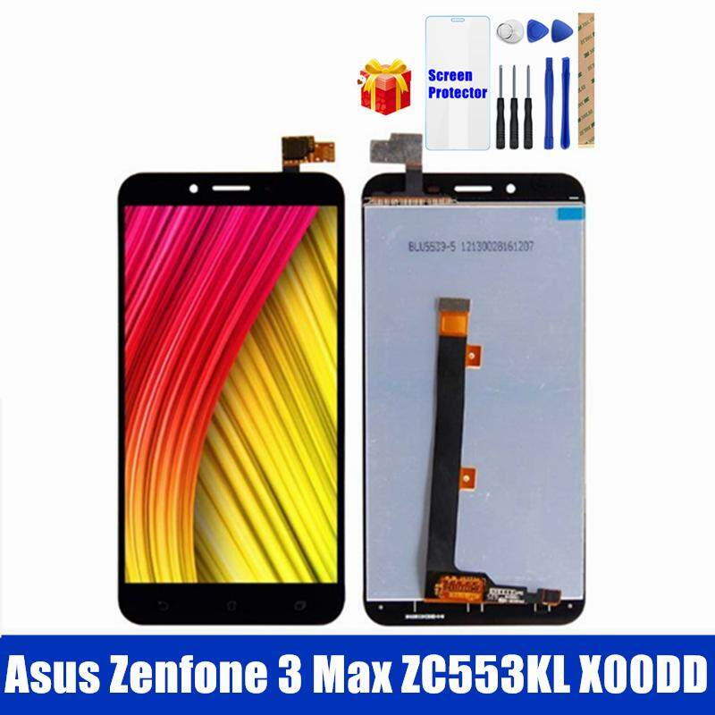 Original For Asus Zenfone 3 Max ZC553KL LCD Display with Frame Touch Screen Panel For Zenfone