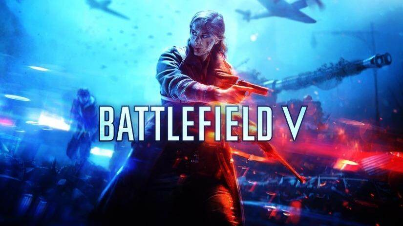 Battlefield V - Offline Pc Game With Dvd By Nadhi Imani Enterprise.