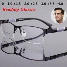 Kính đọc sách loại viễn thị dành cho nam nữ tròng kính dáng vuông phong cách Retro giá tốt – INTL