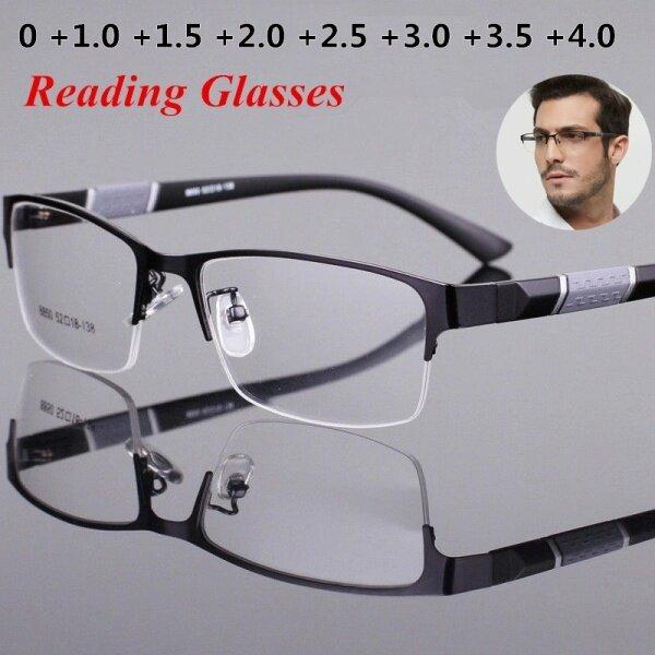 Giá bán Kính đọc sách loại viễn thị dành cho nam nữ tròng kính dáng vuông phong cách Retro giá tốt - INTL