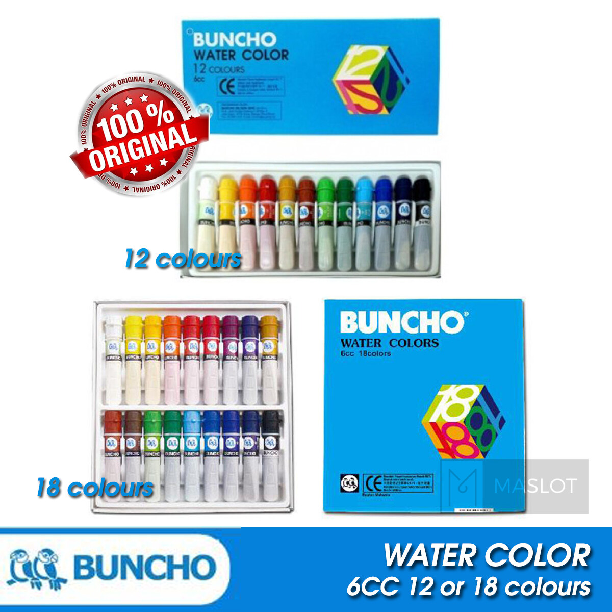 Senarai Harga 24 Buncho Crayon Terkini Di Malaysia Paling Laris