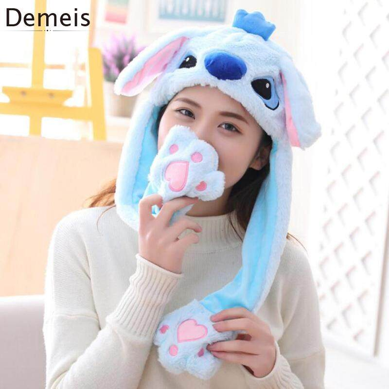 Funny Ear Girls Playtoy ON Plush Rabbit Hat Bunny Gift for Kids Up Down Cute