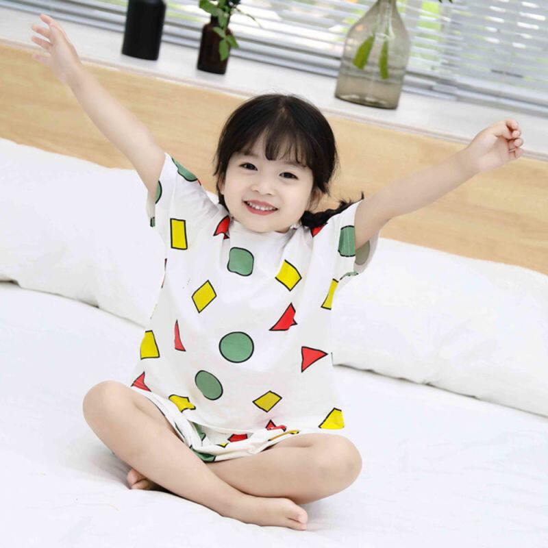 Nơi bán Bộ Đồ Ngủ Bộ Đồ Ngủ Trẻ Em Của Shinchan Bộ Đồ Ngủ Bé Gái Mùa Hè Bé Trai Vải Cotton Bộ Đồ Ngủ Bé Gái 13 Tuổi