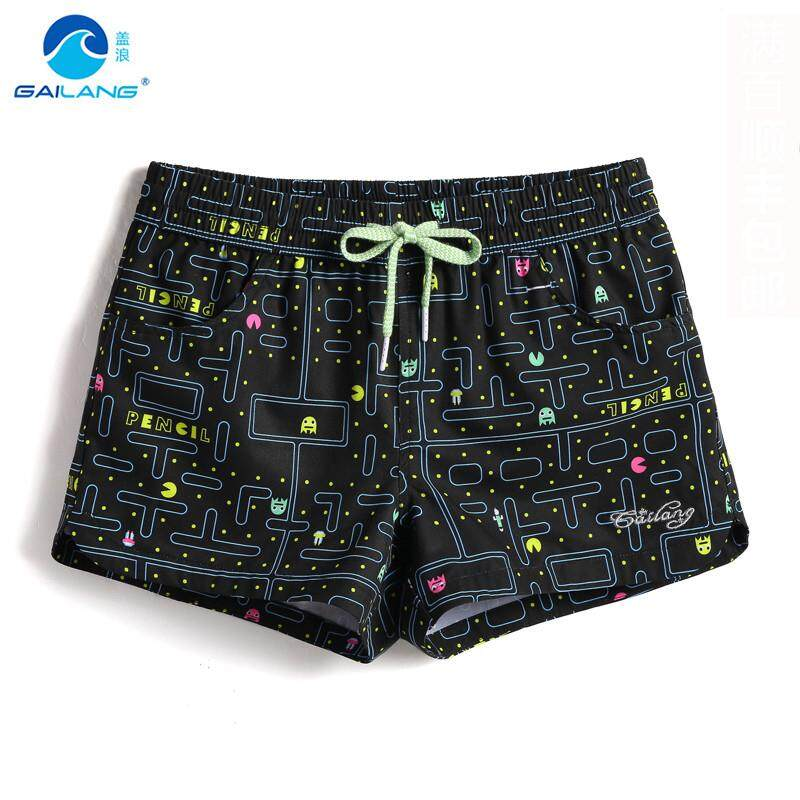 Dependable Unisex Swimwear Beach Shorts Women & Mens Boardshorts Couple Surf Swimming Shorts Swim Trunks Beach Sports Suit Quick Dry Short Home