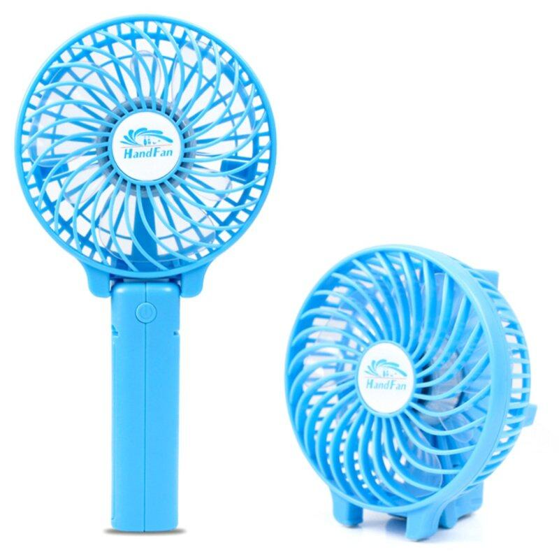Hot Deals New Mini 3 Gear Speed USB Handheld Batery Rechargeable Multifunctional Fan Singapore