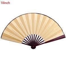 /8 inch/10 inch Vải Lụa Trống Gỗ Tre Thời Cổ Cho Tranh Thư Pháp Trung Quốc gấp quạt Bằng Gỗ Tre thời cổ quạt