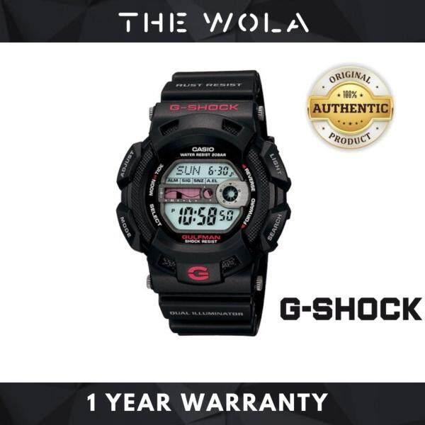 (100% Original G SHOCK) CASIO GSHOCK Original Watch For Men Jam Tangan Lelaki G-9100-1  (watch for man / jam tangan lelaki / casio watch for men / casio watch / men watch / watch for men) Malaysia