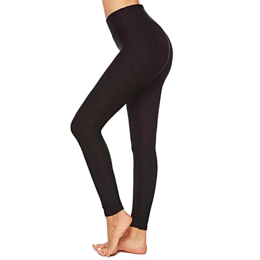 Women Anti-Cellulite High-waisted Leggings Slim Butt Lift Elastic Pants For Yoga