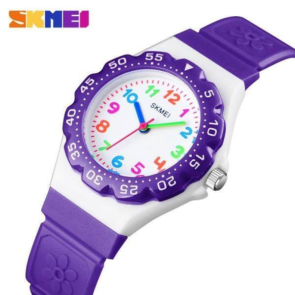 [RAYA SALE] SKMEI New Kids Watches Outdoor Sports Wristwtatch Boys Girls Waterproof Quartz Children Watches 1483 Malaysia