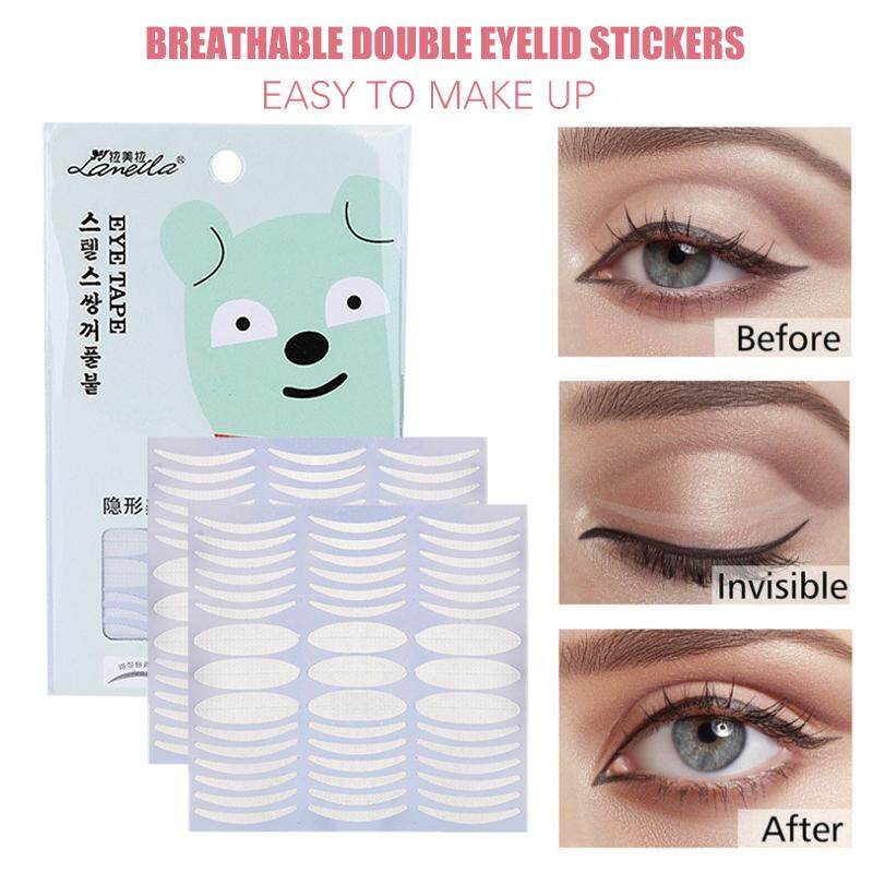 Convenient 135pair Double Eyelid Stickers Makeup Accessories Lameila Magic