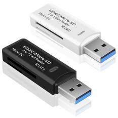 Bộ Đầu Đọc Thẻ Nhớ SDHC 2 Trong 1, Hỗ Trợ USB 3.0 SD/Micro SDXC, Dụng Cụ Chuyển Đổi USB/MicroSD/TF