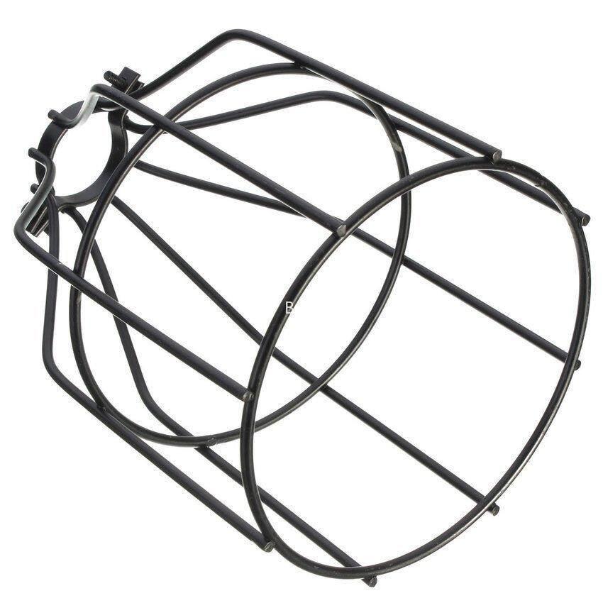 RUI BAO STORE Edison Vintage Pendant Light Lamp Chandelier Metal Wire Cage Hanging Lamp Shade 17x10cm
