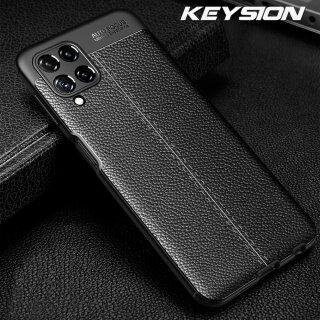 Ốp Chống Sốc KEYSION Cho Samsung M32 F12 Ốp Lưng Điện Thoại Silicon Mềm Kết Cấu Da F52 F02S, Dành Cho Galaxy A22 A03S thumbnail